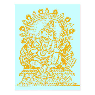 Ganesh: God of Success Postcard