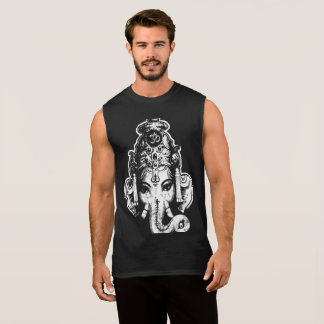 Ganesh Mens Muscle Yoga Tee Shirt