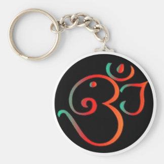 Ganesh Om Keychain