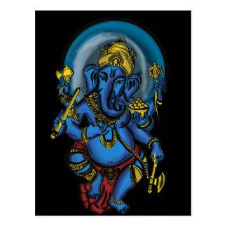 Ganesh Prosperity Postcard