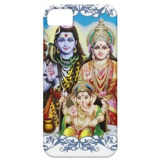 Ganesh, Shiva and Parvati, Lord Ganesha, Durga iPhone 5 Covers
