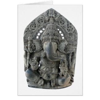 Ganesh Statue Greeting Card