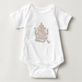 Ganesh Strength Baby Bodysuit