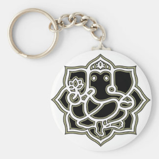 Ganesh the giver of Success Keychain