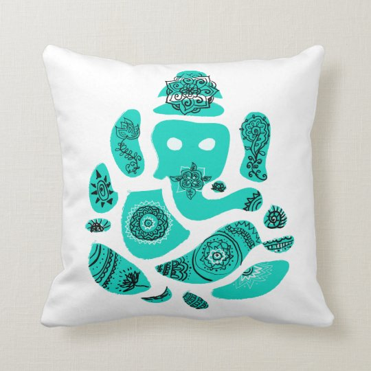 Ganesh Throw Cushion