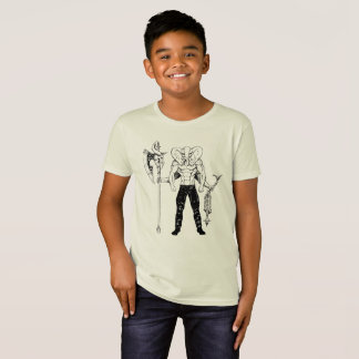 Ganesh Warrior Kid's Organic T-shirt