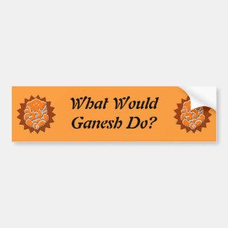 Ganesh wwgd Bumper Sticker