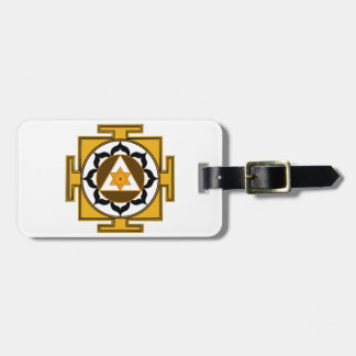 Ganesh Yantra Luggage Tag