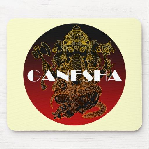 Ganesha 01 mouse pad