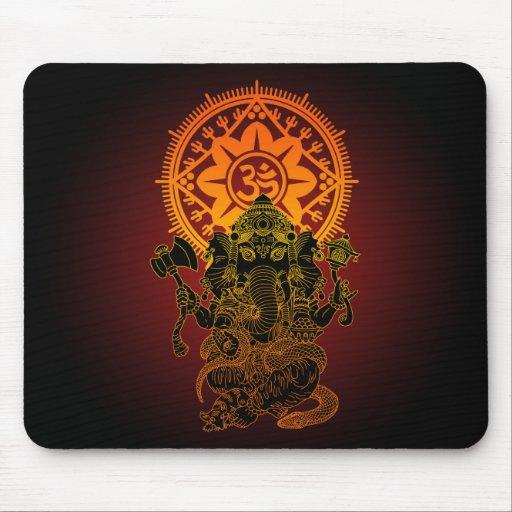 Ganesha 02 mouse pads