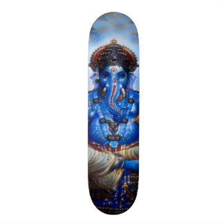 Ganesha Blue God Indie Element Custom Pro Board Skateboard