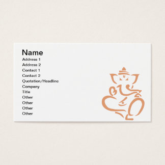 Ganesha Business Card