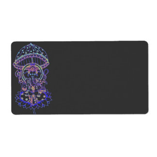 Ganesha Elephant goddess Shipping Label