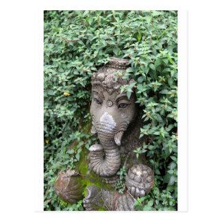 Ganesha elephant Hindu God of success Postcard