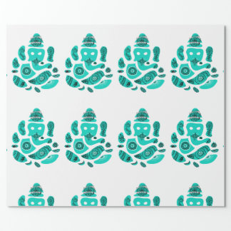 Ganesha Elepnat God  Wrapping Paper, 30 in x 6 ft Wrapping Paper