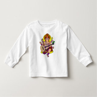 Ganesha Guitar kids long sleeve Toddler T-shirt