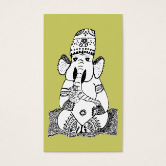Ganesha Hindu Deity Business Card