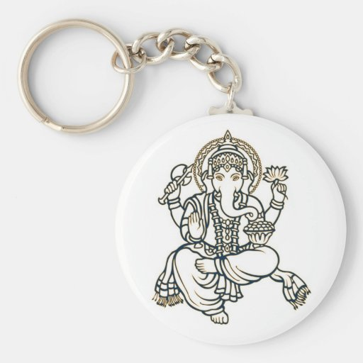 Ganesha Hindu Deity God Key Chains