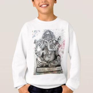 Ganesha in Charcoal Sweatshirt