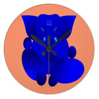 Ganesha Large Clock