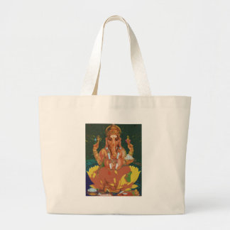 Ganesha Large Tote Bag