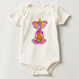 Ganesha Love Baby Bodysuit