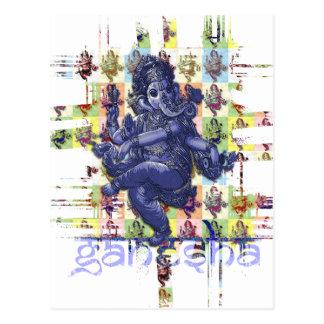 GANESHA | make your own background Postcard