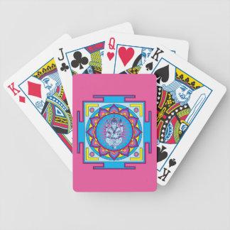 Ganesha Mandala Bicycle Playing Cards