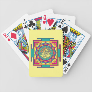 Ganesha Mandala Bicycle Playing Cards