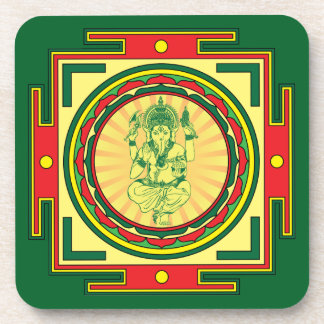 Ganesha Mandala Coaster