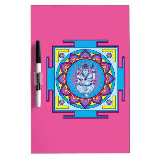 Ganesha Mandala Dry Erase Board