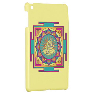 Ganesha Mandala iPad Mini Covers