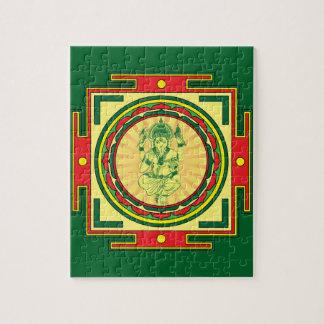 Ganesha Mandala Jigsaw Puzzle