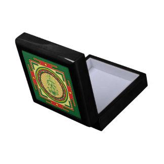 Ganesha Mandala Keepsake Box