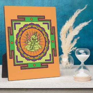 Ganesha Mandala Plaque