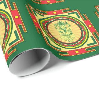 Ganesha Mandala Wrapping Paper