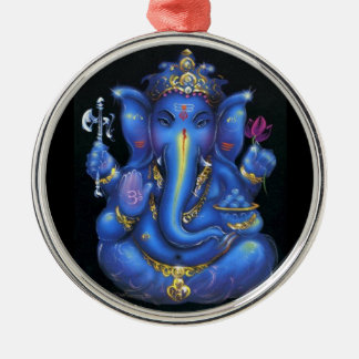 ganesha metal ornament