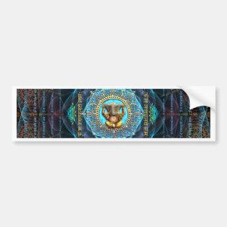 Ganesha- Om Gam Ganapataye Namah Bumper Sticker
