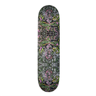 Ganesha Rad Rave Neon Element Custom Pro Board Skateboard Deck