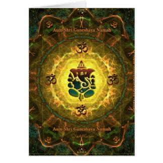 Ganesha - Success, Victory, Prosperity, Knowledge Card