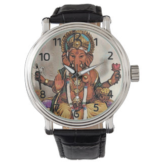 Ganesha Watch (with Roman Numerals)