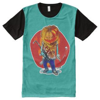 gang squad member pumpkin head