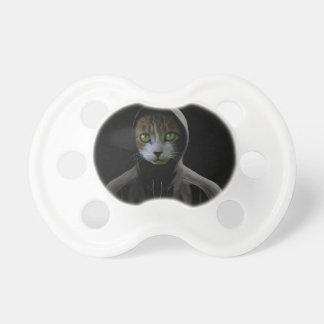 Gangsta cat pacifier