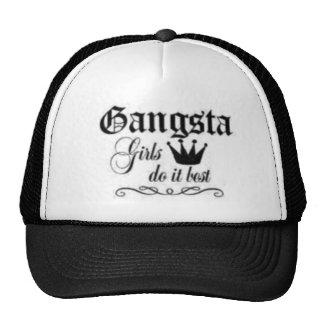 gangsta girls trucker hat