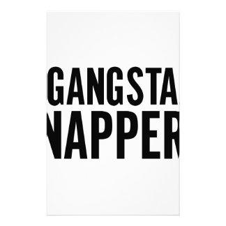 Gangsta Napper Stationery