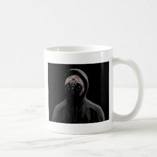 Gangsta pug coffee mug