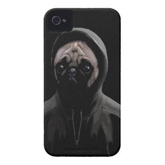 Gangsta pug iPhone 4 Case-Mate case