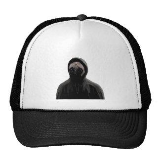 Gangsta pug trucker hat