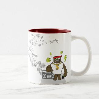 Gangsta Rap Two-Tone Coffee Mug