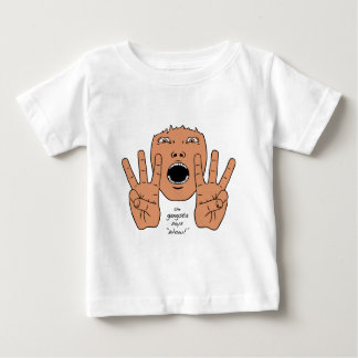 Gangsta Says Wow Baby T-Shirt